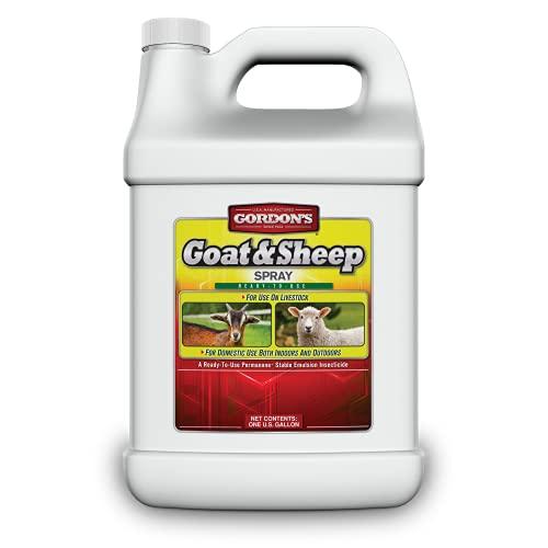 Gordon's Goat & Sheep Spray, 1 Gallon, 7631072