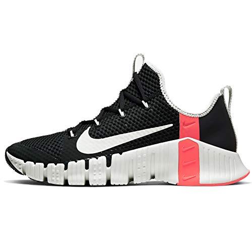 Nike Free Metcon 3 Scarpe da Allenamento Uomo Cj0861-060, Nero (Dk Smoke Grigio/Abete Aura-Laser Cremisi), 41 EU