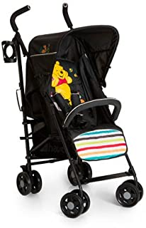 Hauck Disney Stroller Speed Plus, Pooh Tidy Time - 135716 For Unisex, Black