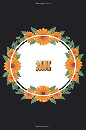 Jade: Personalized Notebook   Jade's Personal Writing Journal   Blank lined notebook   Note Taking for Jade