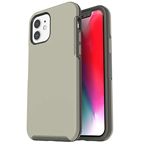 Krichit Ongoing Series Compatible with iPhone 12 case (2020), and Compatible with 6.1-inch iPhone 12 Pro case, Anti-Drop and Shock-Absorbing Phone case (ArmyGreen)