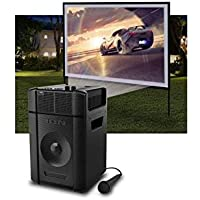 ION Audio IPA119 Projector Plus Full HD 1080p 2000-Lumens 3LCD Portable Projector