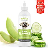 4-in-1 Dog Ear Cleaner – Vet Formulated Cleansing Solution + Aloe...