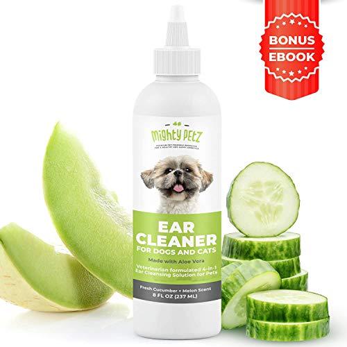 4-in-1 Dog Ear Cleaner – Vet Formulated...