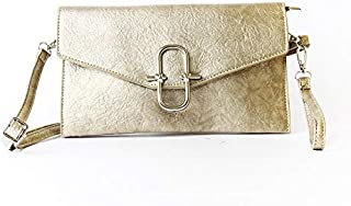Lenz Crossbody Bag For Women, Gold, AM19-B119