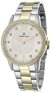 DANIEL KLEIN Premium Alloy Case Stainless Steel Band Ladies Wrist Watch - DK.1.12421-3