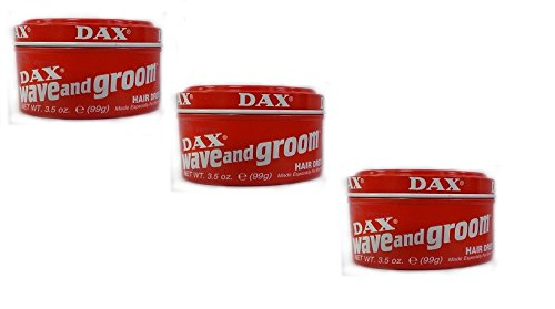 3x DAX Wave and Groom Hairdress 99g (insgesamt - 297g)