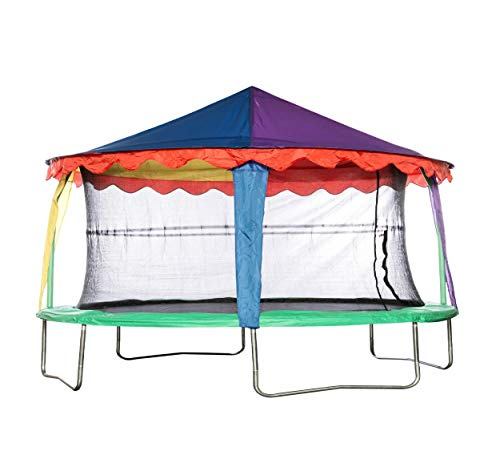 Jumpking Circus Tent Canopy for 10ft x 7ft OvalPod (JK710TC) *THIS IS A ROOF FOR A TRAMPOLINE NOT A COMPLETE TRAMPOLINE*