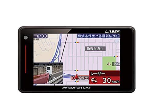 YupiteruユピテルGS203(または同等品LS310)新型光オービス(レーザー式移動オービス)対応3.6型液晶GPS内蔵レ...