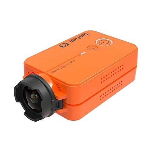 Redcolourful - Videocamera FPV 49 g con batteria sostituibile Run-Cam 2 4K, edizione HD, con grandangolo da 155 gradi, Wi-Fi, per aereo da drone radiocomandato