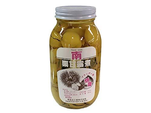 栗甘露煮 ブランデー焼栗(瓶) 内容量1100g 固形量650g