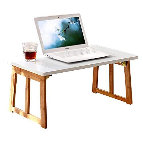 FACAIA Escritorio Plegable para computadora Mesa de Centro portátil con Ventana salediza Escritorio para niños, Madera Maciza, 3 tamaños (Tamaño: 80x48x36CM)