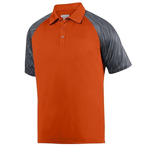 Augusta Sportswear Men's L 5406-C, Orange/Slate, Large