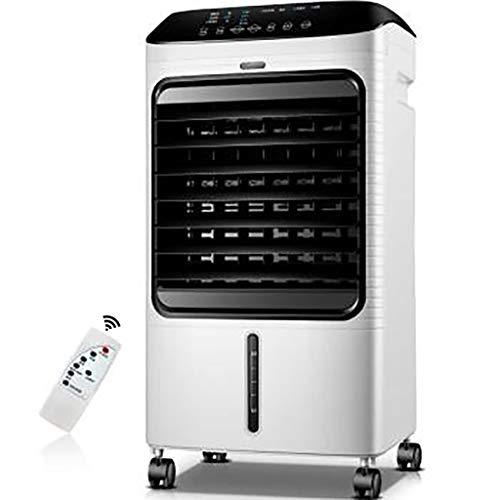 8L portátil por evaporación del refrigerador de aire del ventilador, de alta refrigeración del tanque de agua con control remoto Control Display y LED, 3 velocidades del ventilador con la función de o