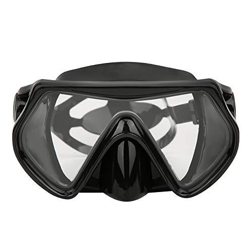 YOPOTIKA Buceo para Adultos Al Aire Libre Snorkel Gafas Templadas Lente de Vista Amplia de Natación Google