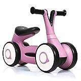 COSTWAY Laufrad, Balance Fahrrad, Balance Bike, Kinderlaufrad, Lauflernrad für Jungen und Mädchen, Kinder Fahrrad, Lernlaufrad ohne Pedal für Kinder von 1-3 Jahre (Rosa)