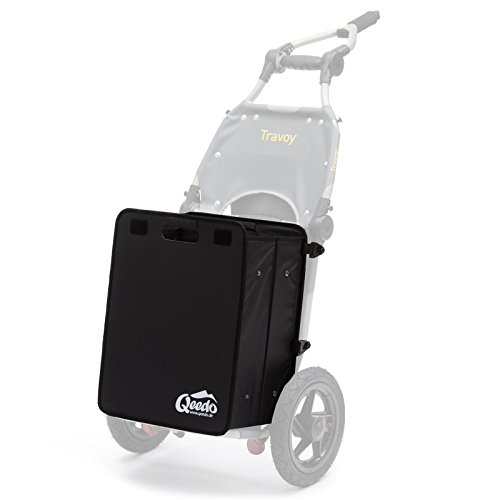 Qeedo Quick Case para el Burley Travoy - Lower Caja Plegable [45 l]
