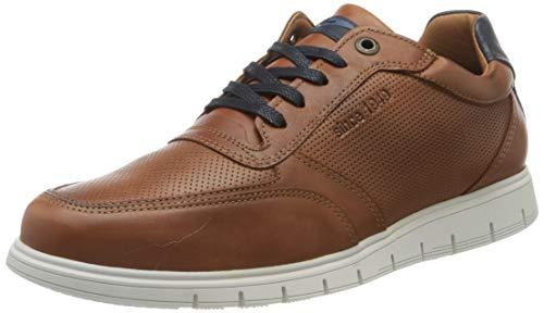 ara Herren MORTON-HIGHSOFT 1134005 Hohe Sneaker, Braun (Cognac, Navy 07), 42 EU(8 UK)