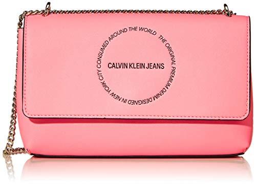 Calvin Klein Sculpted Convertible Ew Flap, Bolso de Hombro para Mujer, 0.1x0.1x0.1 centimeters (W x H x L)