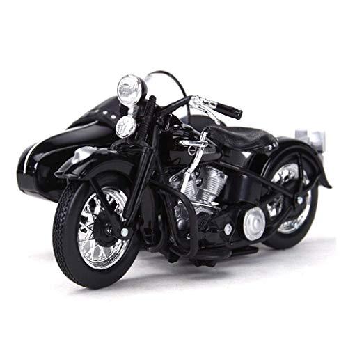 Trommel Kompatibel mit Harley Davidson Legierung Auto Modell Druckguss Modell Motorrad Modell 1/18 Dekoration...