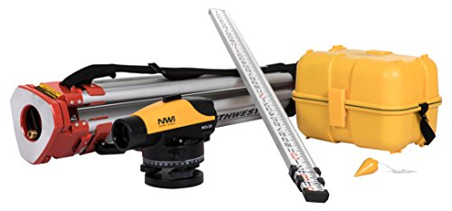 NWI NCLP32 32X Contractors Automatic Level Package