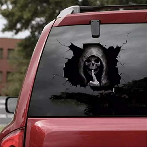YCYY Happy Halloween Wall Floor Sticker Horror Wall Stickers Silent Skull Sticker Car Window Home Decoration Decal Decor Party 40 * 30Cm