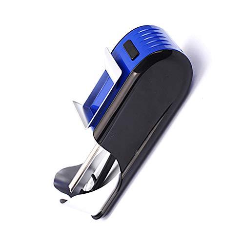 Dreamyep Classic elettrodomestici Sigarette e caffè, Portatile, Facile da Usare, Possono Anche Essere utilizzati nel Traffico, Il Migliore Assistente per i Fumatori, 110V-240V,Blu