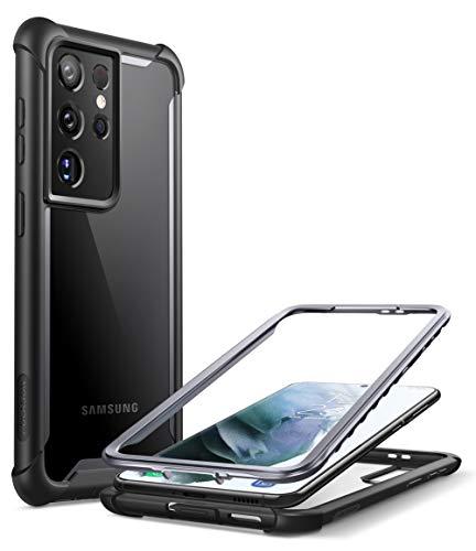 i-Blason Transparent Hülle für Samsung Galaxy S21 Ultra (6.8