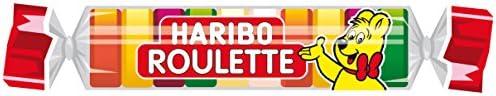 Haribo Roulette 50 rollen, 1,25 kg