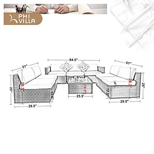 PHI VILLA Outdoor Sectional Sofa