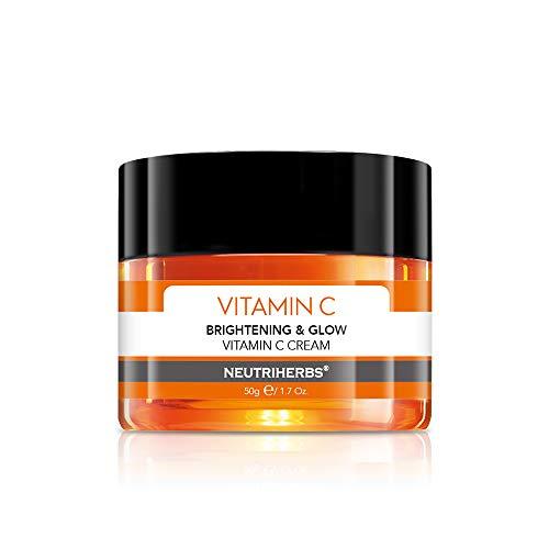Neutriherbs Vitamin C Face Cream Day and Night Cream Facial Moisturizer - Moisturizing Softening & Smoothing Skin 1.7oz …