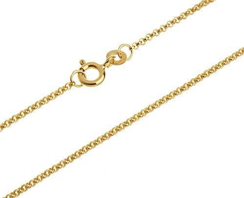 Fa. Thomas Maier Erbskette, Goldkette - 1,5mm Durchmesser - 333 Gold, Länge 70cm