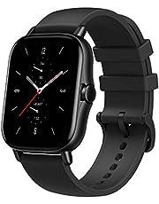 Amazfit GTS 2 Smartwatch Orologio Intelligente Fitness 5 ATM Impermeabile, 12 Modalità di Allenamento, Contapassi, Monitor del Sonno, Memoria Interna Musica di 3GB per Sport, Uomo, Donna (Nero)