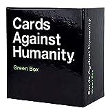 SANLAI Juegos de Cartas para Adultos Cartas contra la Humanidad Expansión de Caja Verde Juegos de Fiesta Locos Reuniones Familiares interactivas Juegos de Cartas Los Juegos Divertidos de la Familia
