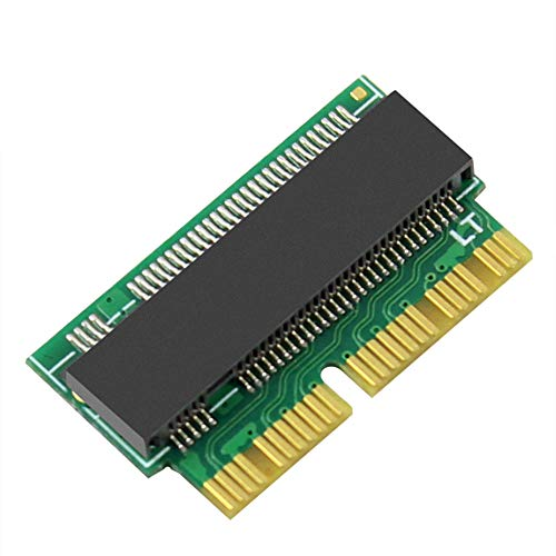 M.2 NVME SSD Convert Adapter for MacBook Air Pro Retina Mid 2013 2014 2015 2016 2017, NVME/AHCI SSD Upgraded Kit for A1465 A1466 A1398 A1502