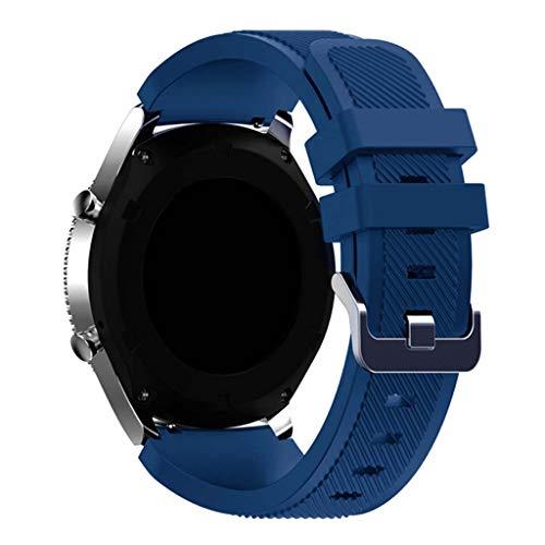 Buwei Correa de Silicona 20 mm para -Amazfit GTR, Reloj para teléfono Celular GT2, Pulsera para teléfono Celular Watch3