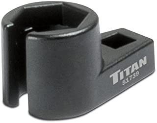 "Titan 51739 Offset Oxygen Sensor Socket - 7/8"" (22mm)"