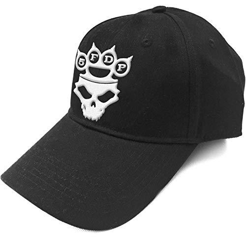 Five Finger Death Punch Baseball Cap Knuckles Band Logo offiziell Schwarz