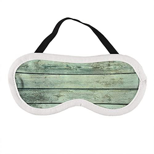 Augenmaske, türkis, rustikale Holzmaske, zum Schlafen, blaugrün, rustikale Holzmaske, Geschenk für Ihn, Schlafmaske