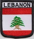 Anstecknadel Libanon Flagge Patch Aufnäher