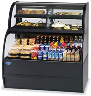 Federal Industries Specialty Display Convertible Merchandiser With Refrigerated Self-Serve Bottom & Convertible Top, 36