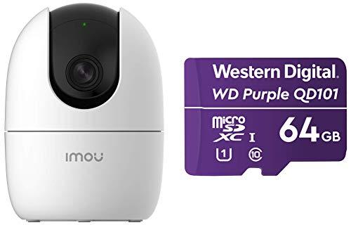 Imou Wi-Fi 1080p Full HD Viewing Area Wireless Security Camera, White