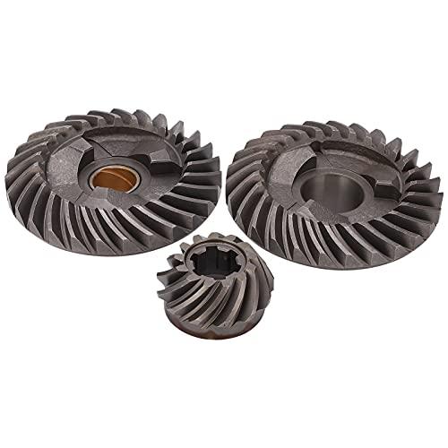 Alomejor Engranaje de piñón de Motor de Barco de 3 Piezas, Conjunto de Engranajes de Motor Marino, piñón de Engranaje de Avance y Retroceso del Motor Fuera de borda T30