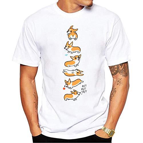 """Miwaimao Unisex-T-Shirt mit Aufdruck """"Tide May Ai Keji"""", mit Rundhalsausschnitt, bequem, elastisch, atmungsaktiv Gr. S, Xh1401"""