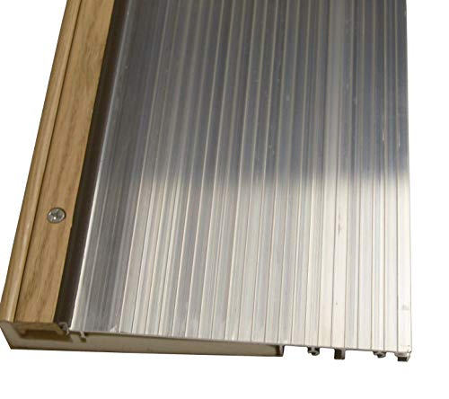 Exterior Inswing Threshold 7 13/16 inch Width x 72 inches Length Mill Finish