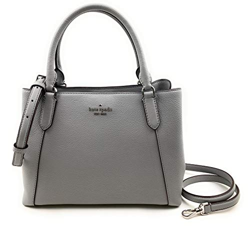 Kate Spade Purse Jackson Medium Triple Compt Satchel Shoulder Bag (Nimbusgrey)