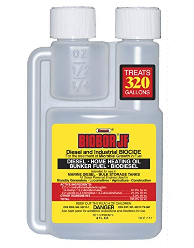 Biobor JF Diesel Biocide and Lubricity Additive, 4-Ounce