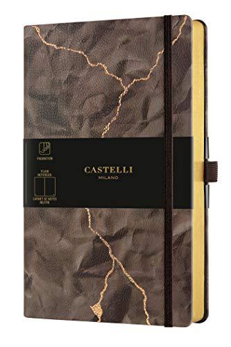 Castelli Milano WABI SABI Lightning Taccuino 13x21 cm Pagina Bianca Copertina Rigida 240 Pag