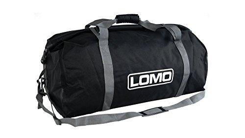 Lomo Dry Bag Roll Top Holdall 60L - Black