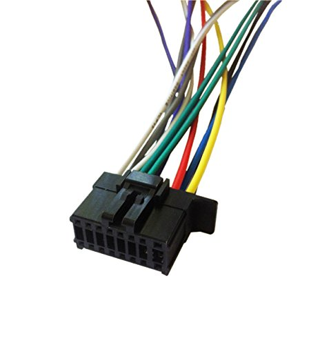 PIONEER MVH-X380BT / MVH-X381BT Wiring Harness Plug